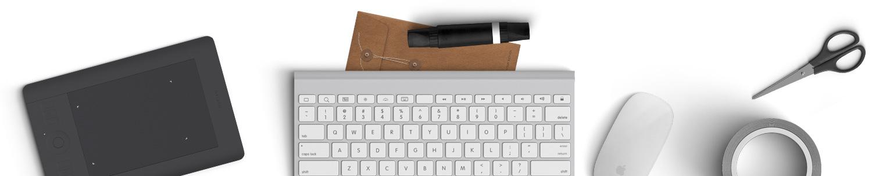 Gadgets de uma consultoria de marketing digital