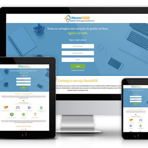 Landing Page e Single Sign-On